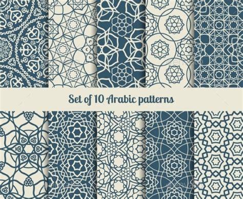 arabic pattern psd arabic patterns graphicriver