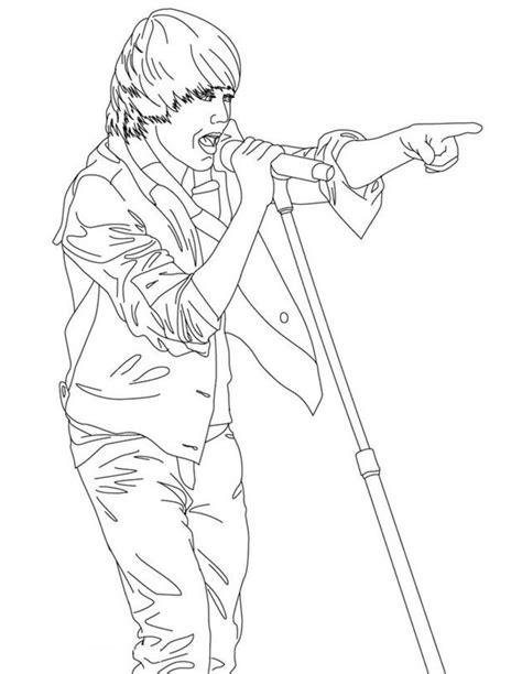 justin bieber coloring pages coloring town