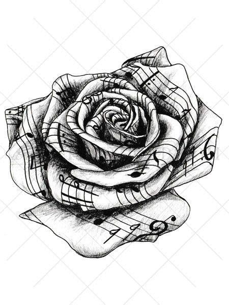 tattooed heart piano sheet music music rose tattoo tattoo roses rose tattoos and sheet music