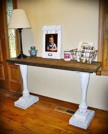salvaged wood console table salvaged wood console table by justagirl lumberjocks
