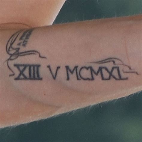 roman numeral 5 tattoo s numeral quot xiii v mcmxl quot