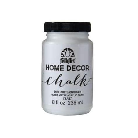 folkart home decor 8 oz white adirondack ultra matte