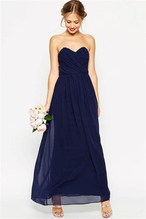 maxi robe bleu nuit de asos wedding mariage