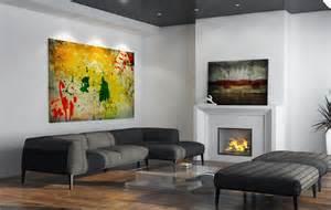 living room wall designs