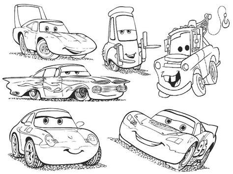 Buku Mewarnai Anak Cars free pemandangan alam coloring pages