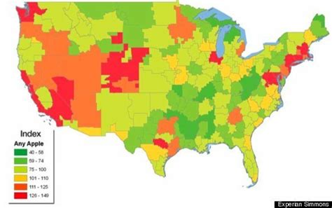 chicago dma map consumer reports apple iphone 4 is loser states may