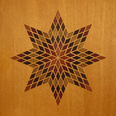 Betelgeusian Wood Marquetry Kit Art