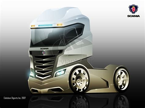 concept semi truck scania concept truck by hafisidris on deviantart trucks