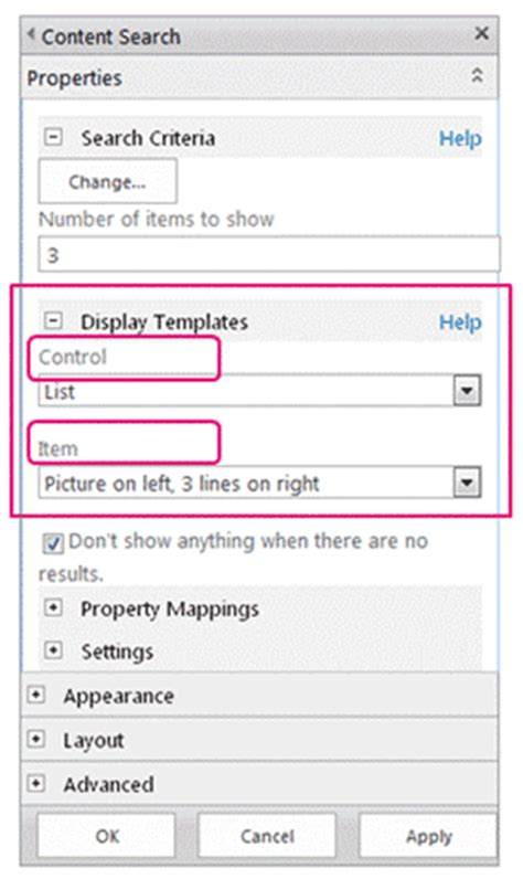 create display template sharepoint 2013 sharepoint 2013 design manager display templates