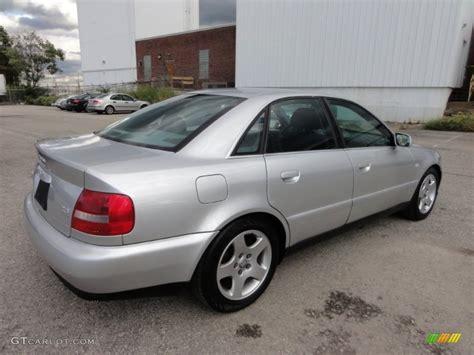 light silver metallic 2000 audi a4 2 8 quattro sedan