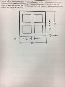 facility layout questions and answers solved shown below is a current layout of a manufacturing