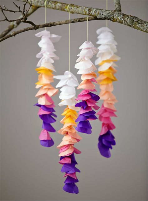 Paper Craft Blogs - 10 tissue paper crafts tinyme