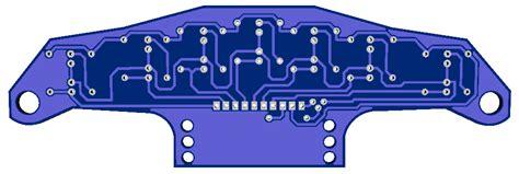 Line Follower Tracer Analog 14 Sensor 6 Relay cara merancang sensor robot line follower dengan transistor switching robotic tutorials