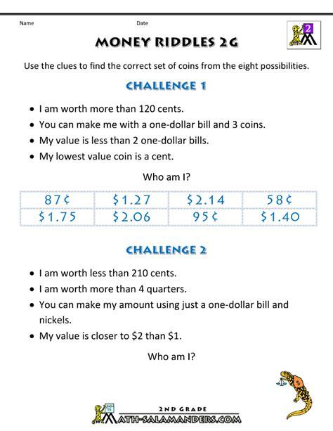 math riddles worksheets www pixshark images