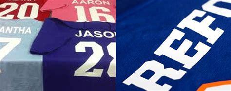 vinyl printing jersey vinyl t shirt printing atlanta vinyl numbers and letters