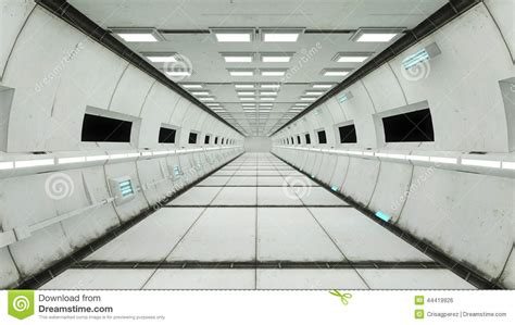 Shipping Container Floor Plan spaceship interior center view with floor stock
