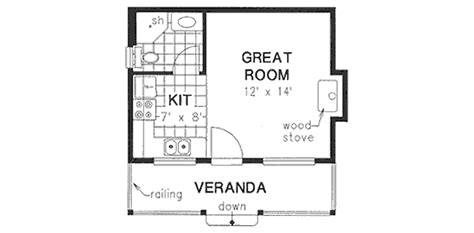 300 sq ft house floor plan cottage style house plan 0 beds 1 baths 300 sq ft plan