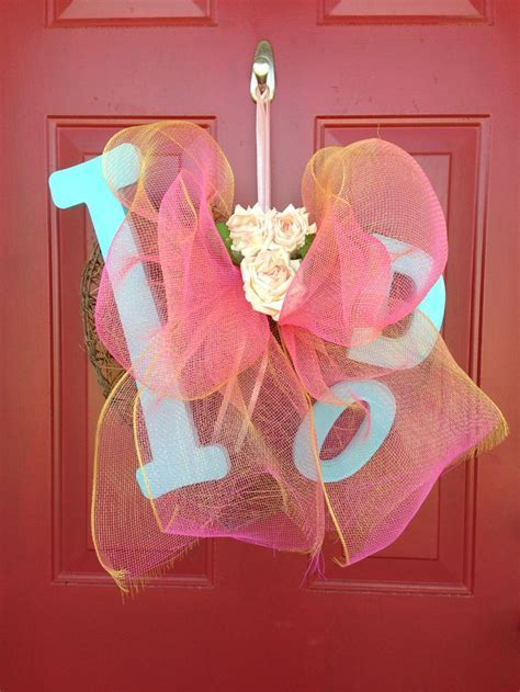 1000  ideas about Bridal Shower Wreaths on Pinterest