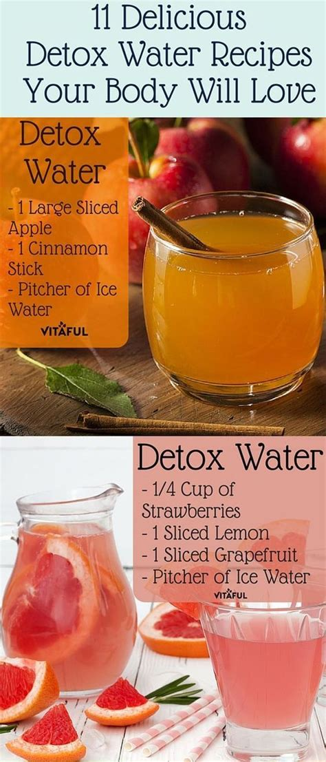 Tasty Detox Recipes by 11 Delicious Detox Water Recipes Your Will