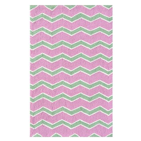 Pink Chevron Area Rug by Filament Design Chevy Care Chevron Pink 4 Ft 7 In X 7 Ft