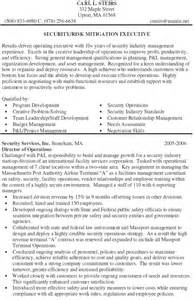 Protective Security Specialist Sle Resume by Executive Protection Resume