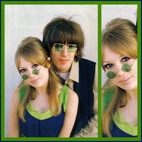 Home Design Inspiration Blog by Pattie Boyd Amp George Harrison 1967 High Low Vintage