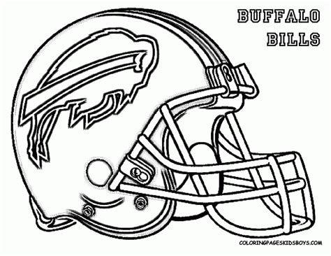 Nfl Football Helmets Coloring Pages nfl football helmet coloring pages coloring home