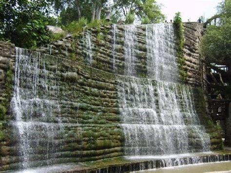waterfall in rock garden picture of the rock garden of