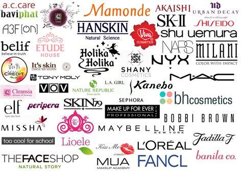 list of cosmetic brands logos cosmetics