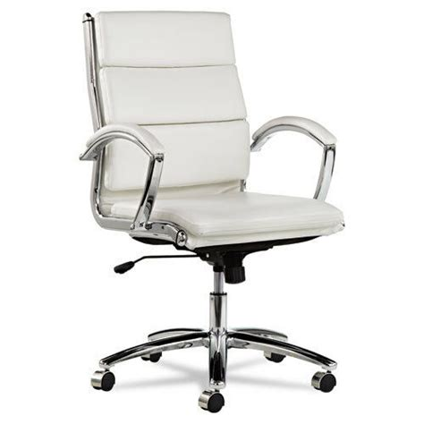 white leather office chair white leather computer office desk chair with padded arms