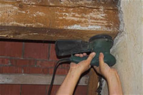 Dachbalken Streichen by Holzbalken Schleifen Und Streichen Meine Tipps