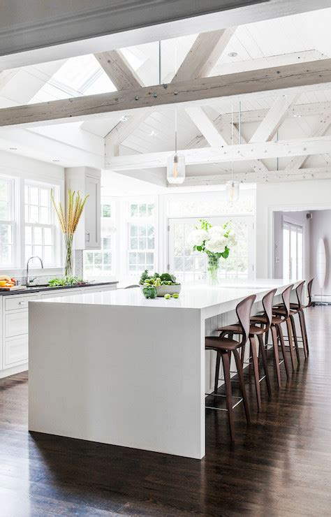exposed ceiling beams in kitchen rattan bar stools home kitchen truss ceiling contemporary kitchen lda