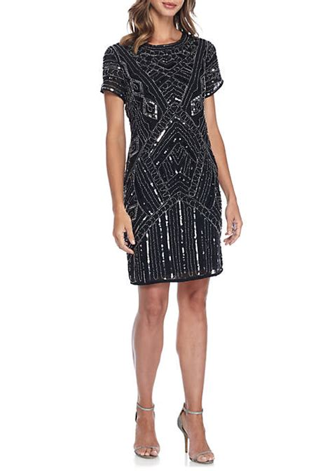bead and sequin dress spense bead and sequin sheath dress belk
