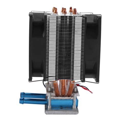 Combo 2 Diy Chiller Peltier Waterblock Water Cooling Block Fan 1 thermoelectric peltier refrigeration diy water cooling
