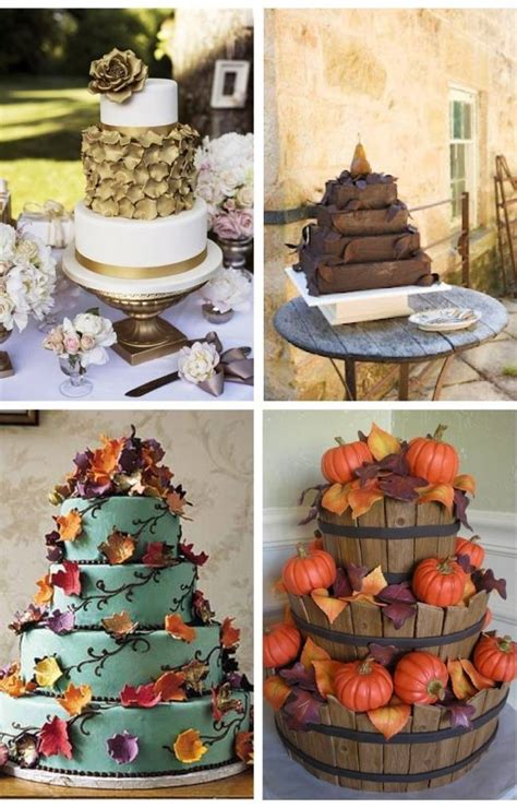 12 rustic autumn wedding cakes you ll