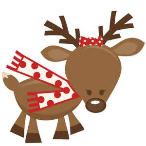 cute reindeer svg cutting files for scrapbooking cute