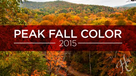 fall colors 2015 2015 peak fall colors time for a road trip hausch and