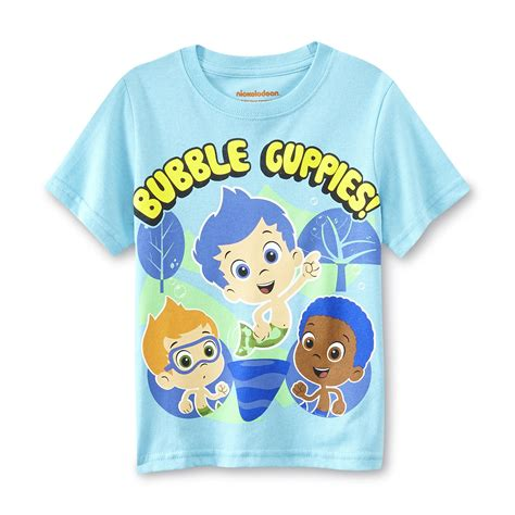 Nickelodeon bubble guppies toddler boy s t shirt clothing baby clothing baby character