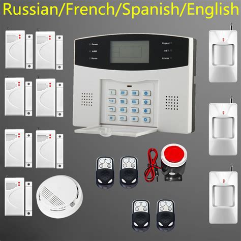 gsm based intelligent home security gsm alarm system for