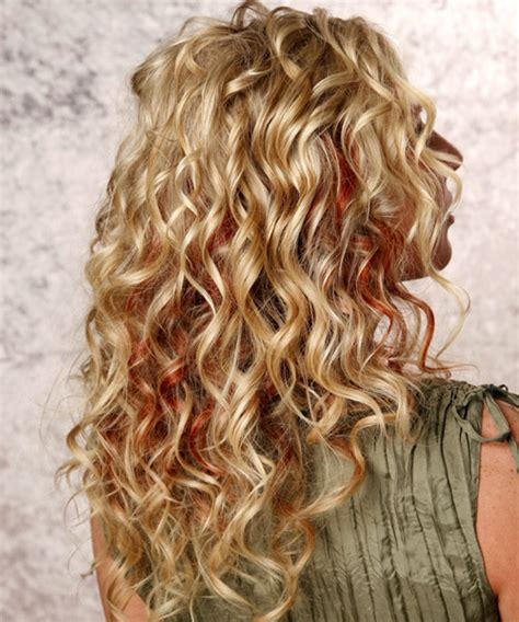 long hair perms loose curls pictures of loose spiral curls long hairstyles