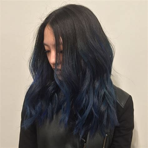 navy hair color hair by choi ce these navy blue nights hair haircolor