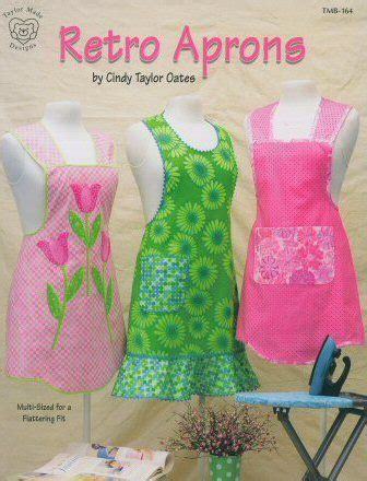 retro apron pattern book how to make an apron resource pages hubpages