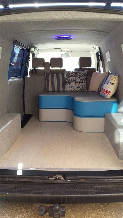 conversion van sofa bed tis an awesome sofa bed in the back of a t4 travel