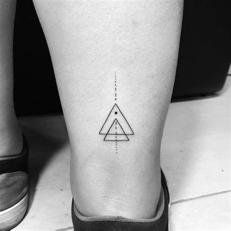 cool triangle tattoo 35 unique triangle designs 2019