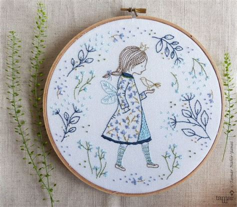 embroidery gifts embroidery gift princess wall winter