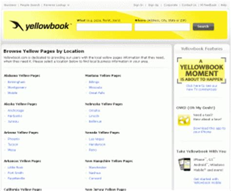 Yellowbook Search Yellowbook