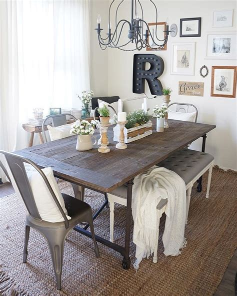 Rustic Dining Room Table Decor 1000 Images About Home Decor On Wall Collage Wall Signs And Master Bedrooms