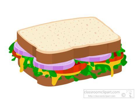Sandwich Clip by Sandwich Clipart Clipart Vegetable Sandwich On Sliced