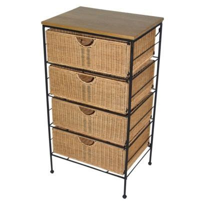 wicker chest of drawers target 17 best images about wicker basket drawers 101 on