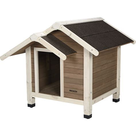 dog house supplies precision pet products outback twin peaks dog house 37in l x 35in w x 31in h